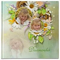 Фотокнига о прелестной девочке Дианочке