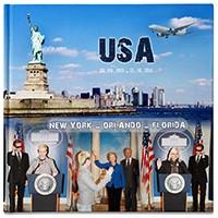 Фотокнига — путешествие в США