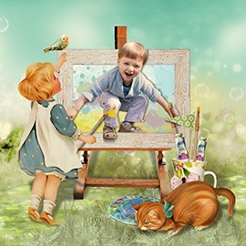 Конкурс «Детская фотокнига сказка». Лучший разворот.