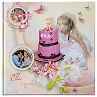 Фотокнига — день рождения девочки