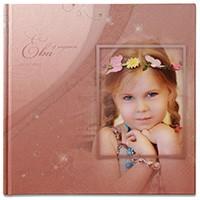 Фотокнига про день рождения девочки Евы