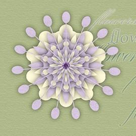 Создаём многослойный цветок