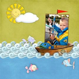 Марафон — создание детской фотокниги. Начало.