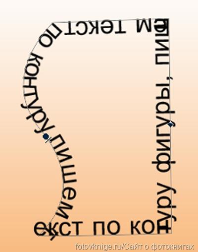 Текст в фотошопе